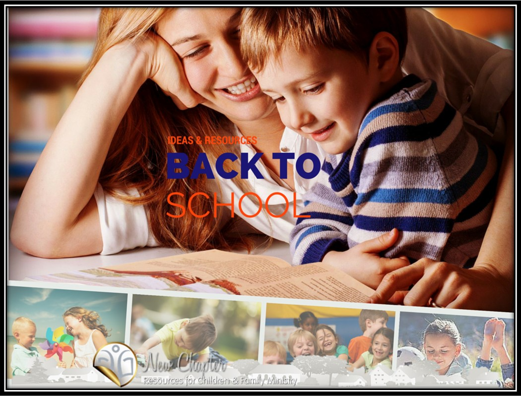Awesome ideas & resources for kidmin Back-to-School events