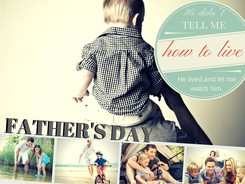 Resources for Father's Day for your kidmin from New Chapter