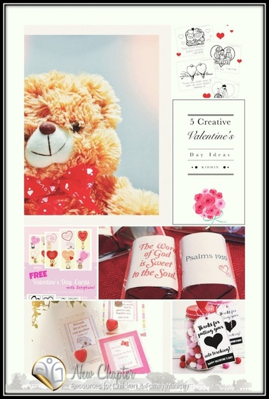5 Creative Valentine's Day ideas for your kidmin.. includes an idea for your volunteers