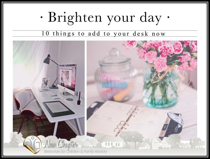 10 things to add to brighten your desk.. and your enthusiasm