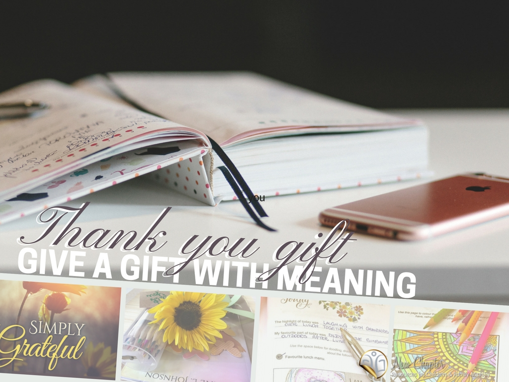 Thank you gift for your volunteers- give a gift with meaning.